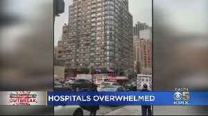 US Open Stadium Converted To Hospital As New York State Coronavirus Cases Keep Surging [Video]