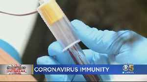 Twice-Quarantined Redwood City Couple Could Provide Key To Beating COVID-19 [Video]