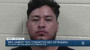 Border Patrol agents arrest sex offenders near Lukeville, Douglas [Video]