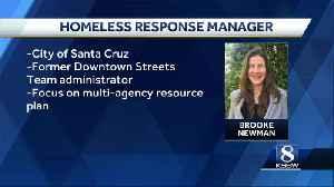 Santa Cruz hires homeless response manager [Video]