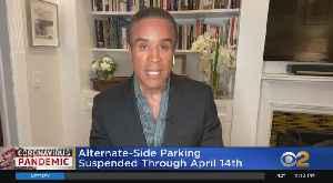 Coronavirus Update: Alternate Side Parking Suspension Extended Again [Video]