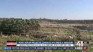 Road repair projects continue in Kansas, Missouri [Video]