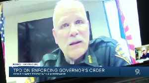 TPD warns of consequences for violation of local, state emergency orders amid pandemic [Video]