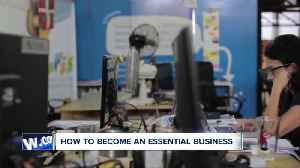 Here's how to become an essential business during COVID-19 [Video]