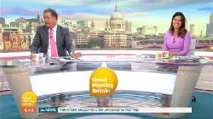 Piers Morgan Appears To Have Some 'Blending Issues' With His Makeup This Morning [Video]