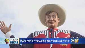 Auditions Begin For New Voice Of Big Tex [Video]