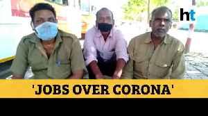 'Jobs over virus': Bus drivers help migrants, passengers amid lockdown [Video]