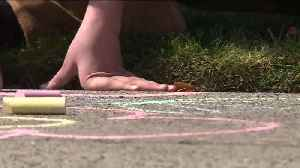 Sacramento Neighbors Bring Cheer to Their Community with Chalk [Video]