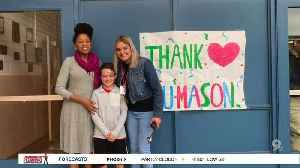 Helping Utterback Middle School during COVID-19 [Video]