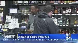 Alcohol Sales Way Up During Coronavirus Pandemic [Video]