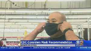 Health Officials Reconsidering Face Coverings Amid Growing Coronavirus Pandemic [Video]