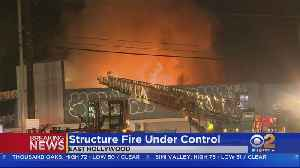 Firefighters Get Control Of East Hollywood Building Fire [Video]