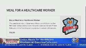 Woodland Hills Cafe Inviting Public To Order Meals For Healthcare Workers [Video]