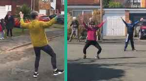 Socially Distant Dancing In The Street [Video]