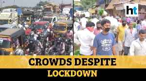 On Day 8 of lockdown, traffic jam in Chennai, crowded market in Mumbai [Video]