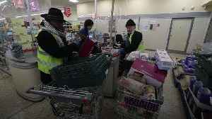 Charity donates free food to those in need during coronavirus lockdown