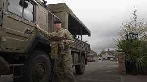 Army pay visit to nine-year-old who wrote them a letter