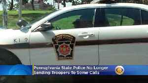 Pennsylvania State Police No Longer Sending Troopers To Some Calls [Video]