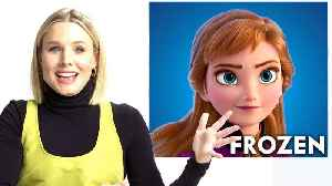 Kristen Bell Breaks Down Her Career, from 'Gossip Girl' to 'Frozen' [Video]