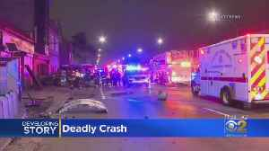 1 Dead After Crash Involving CTA Bus, Car In West Englewood [Video]