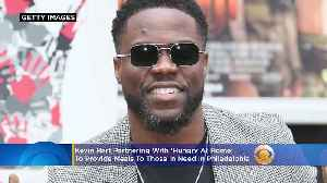 Kevin Hart Supplying Philadelphia Community With Hot Meals During COVID-19 Outbreak [Video]