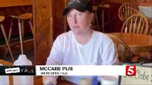 We're Open Y'all: McCabe Pub [Video]
