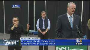 Gov. Baker Update Coronavirus Response in Massachusetts [Video]