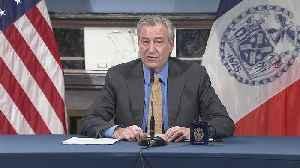 Mayor Bill De Blasio Gives Update On Coronavirus Pandemic [Video]