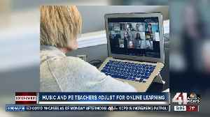 Physical education, art, music teachers adjust to online learning [Video]