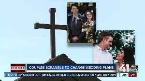 Coronavirus alters wedding plans for couples in the metro [Video]