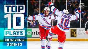 Top 10 Rangers Plays ... Thus Far [Video]
