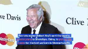 New England Patriots' Plane to Bring 1.2 Million N95 Masks to US From China [Video]