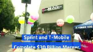 Sprint and T-Mobile Complete $30 Billion Merger [Video]