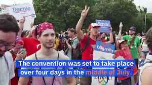 Democratic National Convention to Be Postponed [Video]