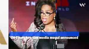 Oprah Winfrey to Donate $10 Million to Coronavirus Relief [Video]