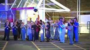 Hospital workers in Dorset add to UK-wide 'Clap for Carers' in touching moment [Video]