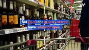 US Alcohol Sales Surge Following Stay-At-Home Orders [Video]