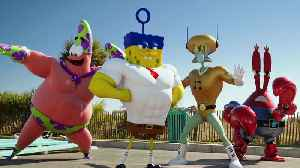 The SpongeBob Movie Sponge Out of Water Clip - Kicking [Video]