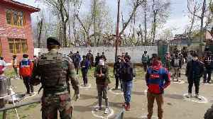 Indian army set up COVID-19 training camp to educate locals about the pandemic [Video]