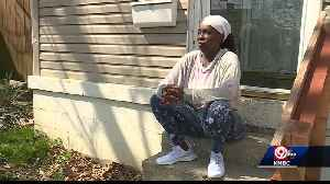 Woman living in transitional housing unable to pay rent after being laid off [Video]
