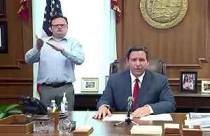 Florida's DeSantis issues coronavirus stay-at-home order [Video]