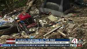 Stay-at-home order causes rise in illegal dumping [Video]
