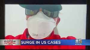 Coronavirus Cases Surge In U.S. As Shortage Of PPE Looms At Hospitals [Video]