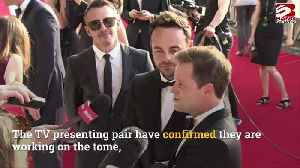 Ant and Dec to release book marking 30 years on TV [Video]
