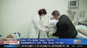 Gov. Murphy Will Tour Meadowlands Field Hospital [Video]