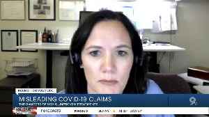 Unproven therapies and misleading COVID-19 claims [Video]