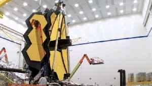 See the Giant Golden Mirrors of NASA's New Space Telescope in Action [Video]