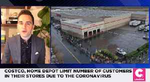 Costco and Home Depot Limit Number of Shoppers Inside Store Due To New Coronavirus Policies [Video]