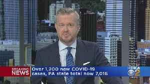 Pa. Dept. Of Health Announces Over 1,200 New Coronavirus Cases [Video]