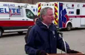 NYC Mayor thanks 'hero' EMTs, paramedics dispatched by FEMA